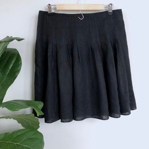 Ann Taylor LOFT • Linen Pleat Skirt